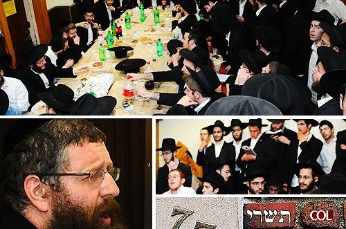 ערב ראש-השנה: הרב יעקב קופרמן התוועד ב-770 ● גלריה