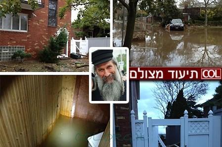 הסטודיו של הזמר מרדכי בן דוד נהרס בסופה ● תיעוד