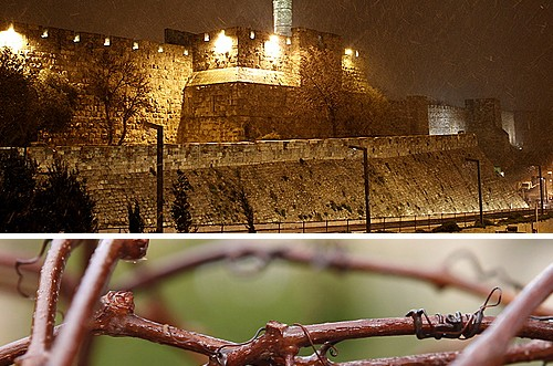 רגע לפני השלג: מסע מצולם בירושלים ● גלריה מיוחדת