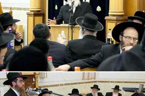 בבית הכנסת