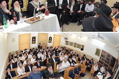 הרב עמאר השתתף בכינוס תורה בכפר-חב