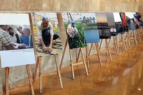 שמונה שנים להתנתקות: תערוכת תמונת הוצגה בכנסת. צפו
