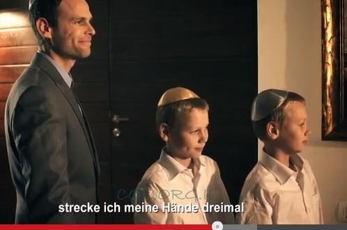 כובשים עולם: איך מדליקים נרות שבת - בגרמנית