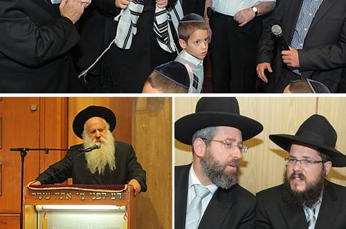 הרב אשכנזי הוכתר לרב בית הכנסת