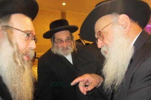 הרב גרונר השתתף בשמחת העסקן הסאטמרי