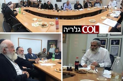יומיים לבחירות: הישיבה האחרונה במועצת עמק לוד ● תמונות