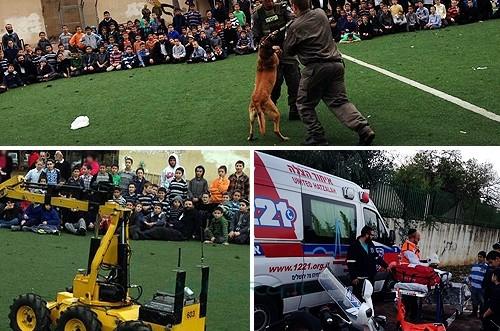 יום קהילה עם כוחות ההצלה והביטחון בכפר חב