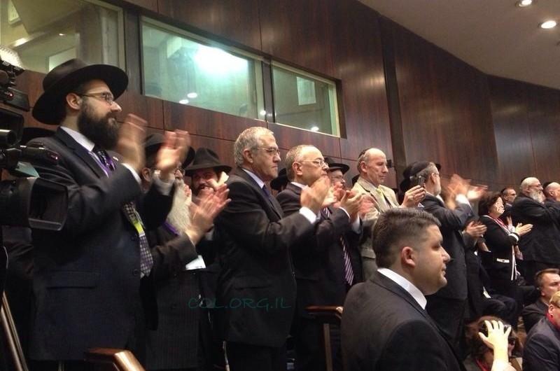 שלוחי הרבי הריעו לנאום ראש ממשלת קנדה בכנסת