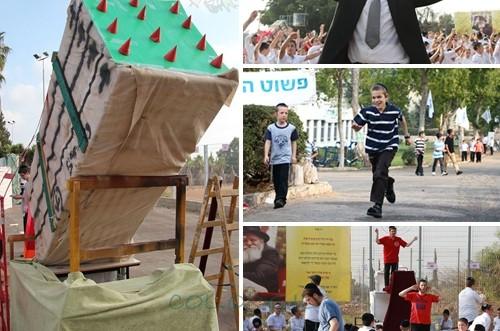 כך גוייסה כיפת ברזל לקעמפ הגדול בישראל ● אלבום ענק