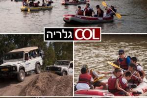 ג'יפים וחיילים מסיירים על שפת הירדן ● יומיים שלא ישכחו