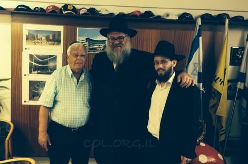 ראש העיר קרית מוצקין ישתתף בתפילות בבית הכנסת הפתוח