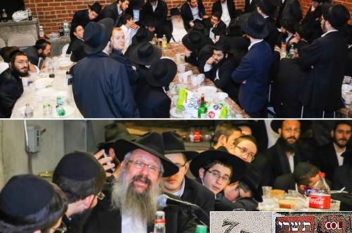 בסוכת האורחים בחצרות קודשנו: הרב זרחי והרב דוכמן. צפו