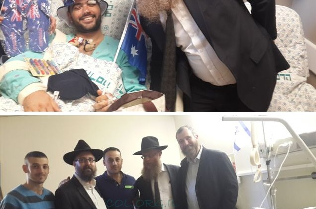 השליח מאוסטרליה במסע הזדהות וחיזוק בישראל