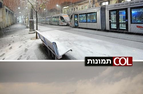 הכטמן מגיש: 9 רגעים מרהיבים מהשלג בירושלים ● צפו