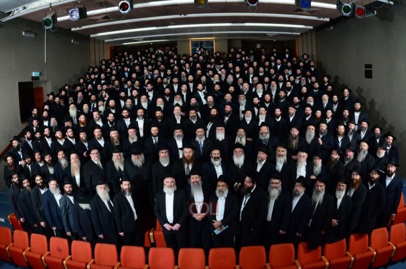 צבא הרבי בישראל בתמונה קבוצתית
