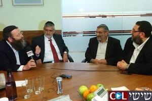 אלי ישי, ברוך מרזל ומיכאל בן-ארי בראיון משותף ל-COL ● צפו