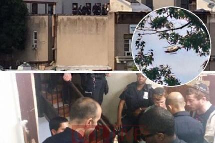 749: צעיר שיחק ברובה אוויר על הגג; המשטרה הוזעקה