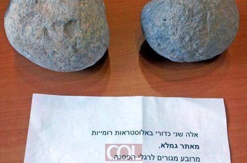 התחרט והחזיר ממצאים ארכיאולוגים: