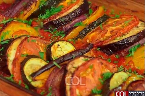 שווה לנסות: רטטוי ירקות וזיתים ● מתכון מסביב לעולם