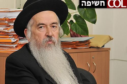 פרסום ראשון: הרב יעקב אליעזרוב מונה לראב