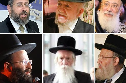 פרויקט מיוחד: רבני ישראל מברכים את שלוחי הרבי ● האזינו
