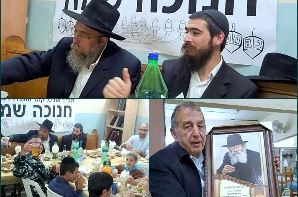 נר חמישי והתוועדות סוחפת בבית הכנסת