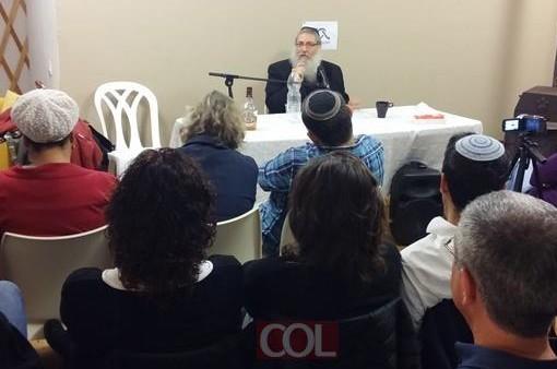 מפגש חודשי של קהילת התקשרות לזוגות