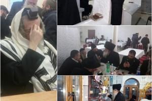 יומן מסע לציוני אבות החסידות באוקראינה