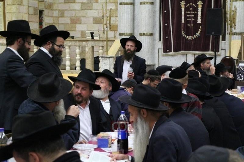שבת מיוחדת בבית הכנסת של הרבי
