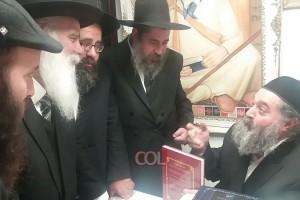 רבי יקותיאל אבוחצירה הוזמן כאורח הכבוד להתוועדות המרכזית