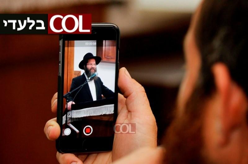 הרב מאיר אשכנזי מדבר ● בלעדי