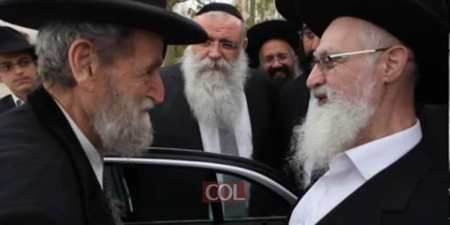 הרב שאר ישוב כהן משוחח עם הרב יעקב יוסף על הרבי