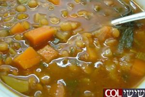 מרק שעועית בולגרי ● מתכון לשבת