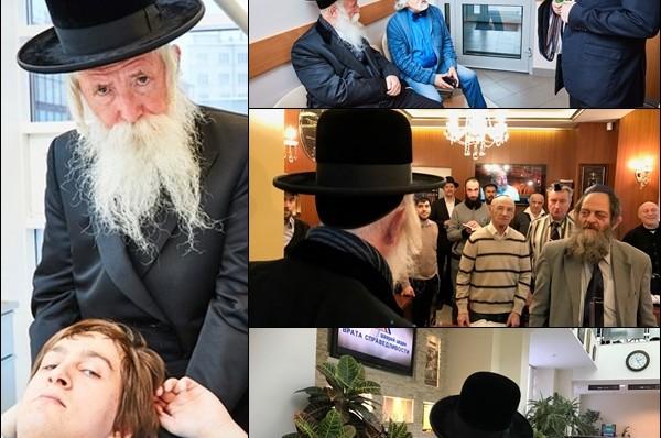 הרב גרוסמן בביקור במרכז החסד היהודי במוסקבה ● וידאו