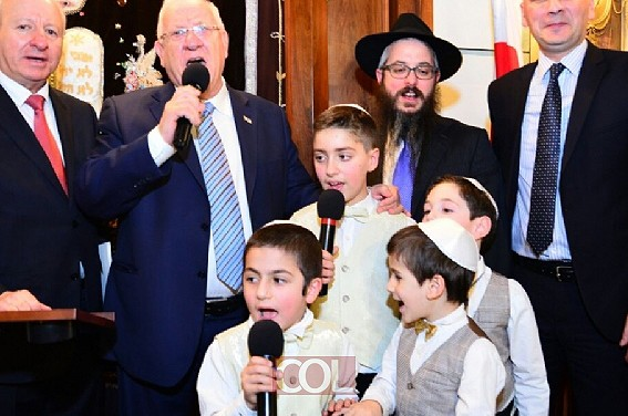 בין גאורגיה לירושלים: הביקור המרגש בצל הפיגוע ● מיוחד