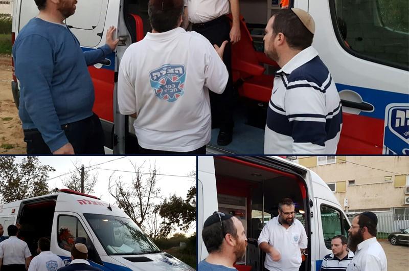 חדש: אמבולנס איחוד הצלה בכפר חב