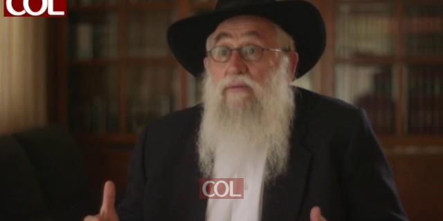 הרב שלמה וישצקי מספר: