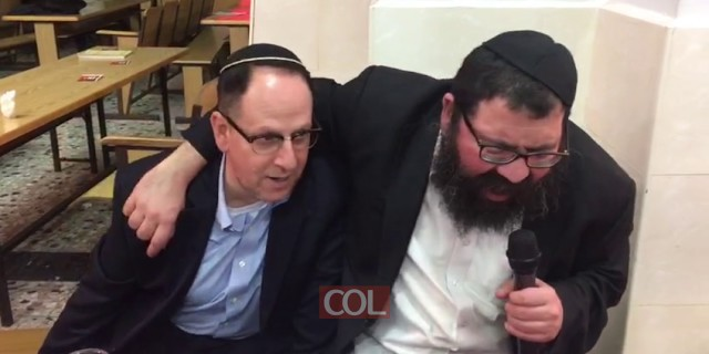 הרב מיכאל טייב בהתוועדות יום הולדת לר' שניאור גורביץ