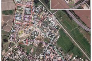 מפת הרחובות ומספור הבתים של כפר חב