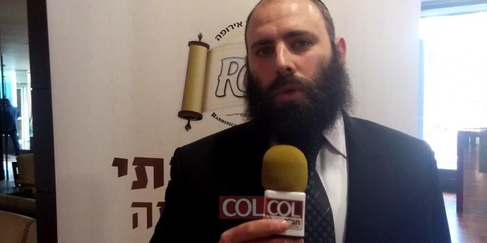 הרב מנחם מרגולין בראיון ל-COL