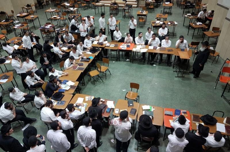 שיעור בישיבה המרכזית על מבצע 'אות בספר התורה'