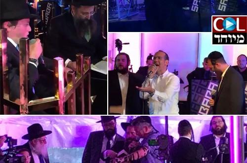 זמרים ואמנים באו לשמח בבר מצוה של לייזר גלפרין • מרגש