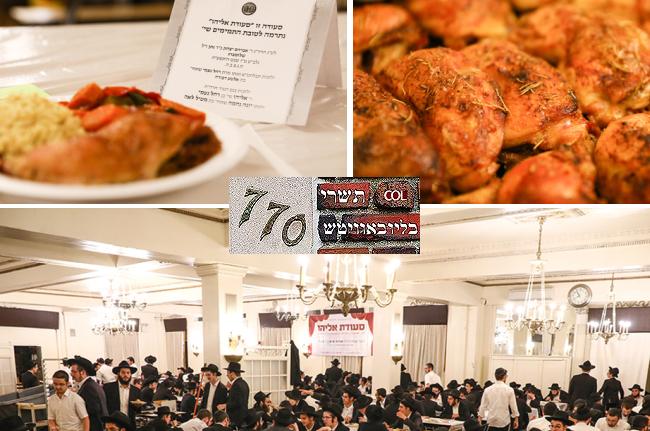 חודש אחד, שלשה ארוחות, אלפי אורחים • תיעוד מיוחד