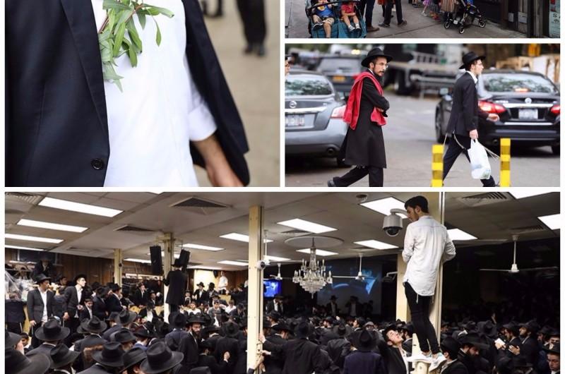 ערב שמחת תורה בקראון הייטס ומוצאי החג ב-770 ● 80 תמונות