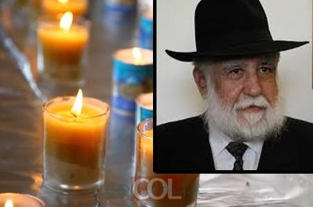ברוך דיין האמת: נפטר השליח הרב ישועה חדד ע