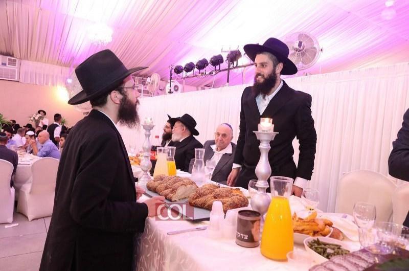 ישיבת 'חזון אליהו' פותחת את זמן החורף בחתונה של בוגר המוסד