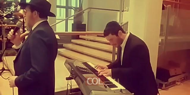 מנדי גרופי שר רק תפילה אשא באולם גרמניה