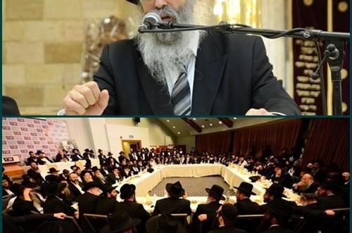 המתוועד הראשי בכינוס השלוחים הארצי: הרב גלוכובסקי