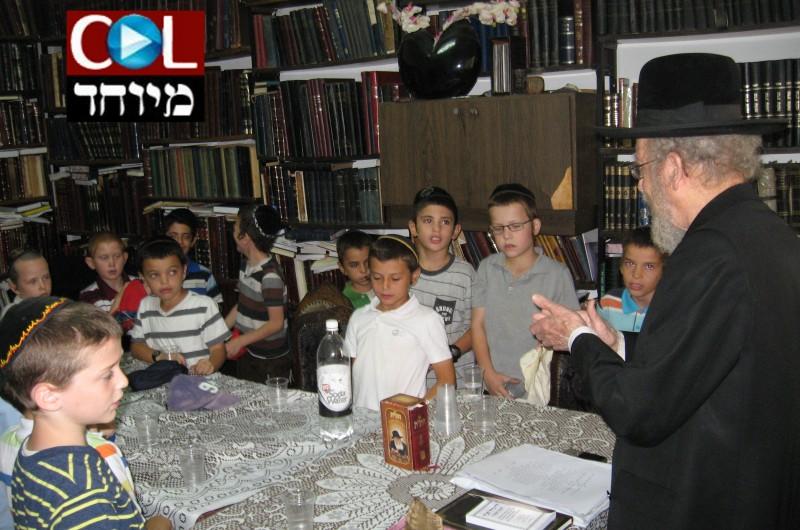 הרב סלונים לתלמידים: