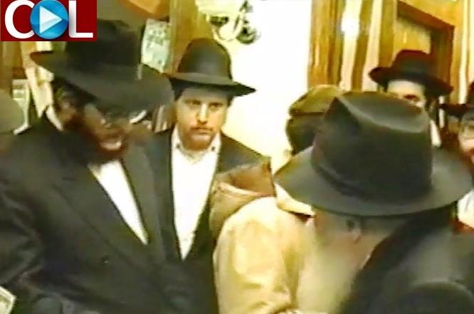 היום לפני 28 שנים: שליחות מיוחדת מהרבי לרב אהרונוב